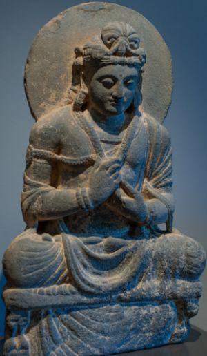 Sitting Bodhisattva