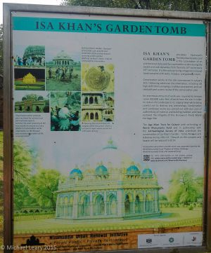 Isa Khan tomb description