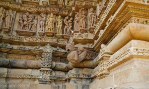 Wall detail NE corner inner wall Lakshmana temple