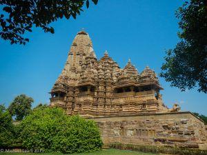 South face view of Kandariya Mahadeva temple