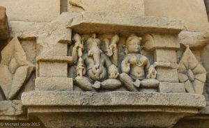 Ganesh and Ganesh consort figures