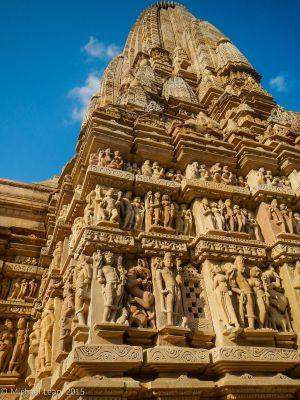 Parsvanatha Jain temple wall details