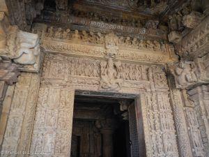 Entrance detail porch Parsvanatha temple
