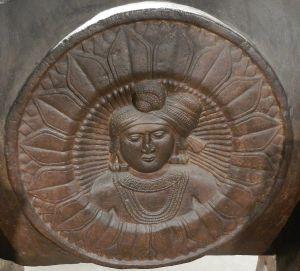 Post roundel (Indian museum Kolkata)