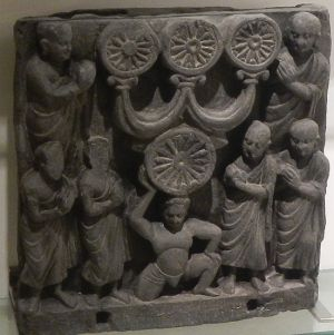 Gandhara frieze