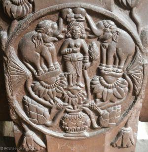 Bharhut elephant lustration