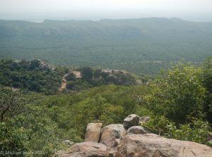 View toward Vulture Peak