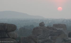 Sunset Hemakuta Hill