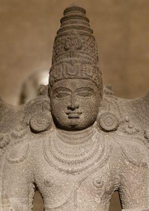 Skanda, dieu de la Guerre et chef de l'armée des dieux
