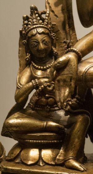 Detail: Le bodhisattva Sugatisamdarsana-Lokesvara