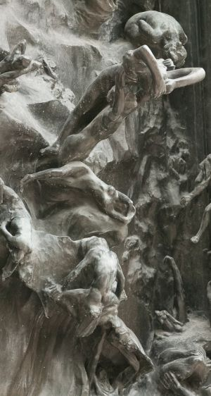 Detail: The Gates of Hell